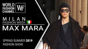 Max Mara | <b>Spring</b>-<b>summer 2019</b> | Milan fashion week - YouTube