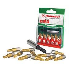 Цена на <b>Набор бит HAMMER</b> Flex <b>203-902</b> PB, 12шт [30736]