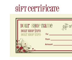 printable blank gift certificates template com printable blank gift certificates