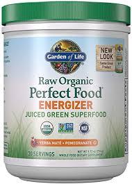 Garden of Life Raw Organic Perfect Food Energizer ... - Amazon.com
