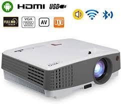 <b>2019</b> Portable Wireless Bluetooth <b>LCD</b> Projectors 3300 Lux <b>Mini</b> ...