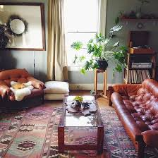 modern bohemian living room with record player alea joy decorating bohemian living room furniture