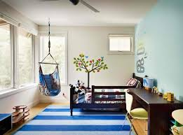 ravishing rocking chair in the bedroom carpet stripe blue carpets bedrooms ravishing home