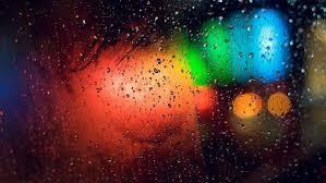 lights rain glass bokeh wallpaper beautiful lighting