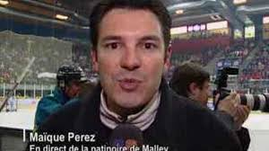 Duplex en direct de la patinoire de Malley (Lausanne) avec Maïque Perez, journaliste sports TSR - 123096