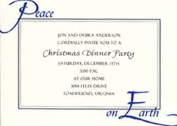 Wording samples for Christmas Party Invitations WB3014.