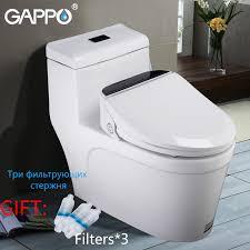 <b>GAPPO Toilet Seats Smart</b> warm Bidet <b>Toilet Seat</b> Elongated Electric ...