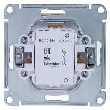 Выключатель встраиваемый <b>Schneider Electric W59</b> 1 клавиша ...