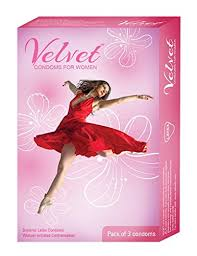 Buy <b>Velvet Female</b> Condom - 3 Count Online at Low Prices in India ...