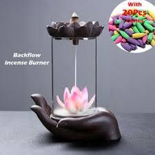 Desktop Creative Ceramic Backflow Incense Burner with ... - Vova