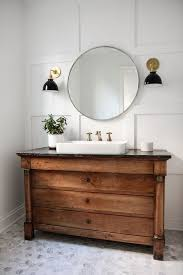 dwell bathroom cabinet: bathroomwithanantiquevanity fbcbdaadd bathroomwithanantiquevanity