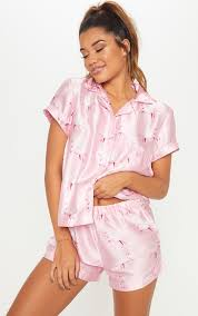 <b>Satin Pyjamas</b>   <b>Satin Pyjama</b> Sets   PrettyLittleThing