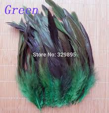 Whoelsale! <b>50pcs</b> 13 Mixed <b>colors</b> Beautiful Rooster Cock <b>feathers</b> ...