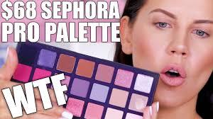 $68 <b>SEPHORA</b> PRO PALETTE ... WTF - YouTube