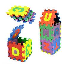 <b>Hot sale</b> New <b>36Pcs</b> Baby game pad Number Alphabet Puzzle ...