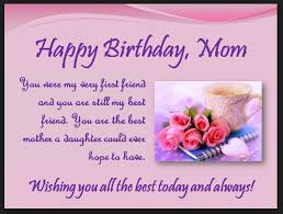Mom Birthday Messages Quotes - Wishes Happy Birthday DesignCarrot.co via Relatably.com