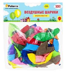 <b>Набор воздушных шаров Paterra</b> 401-542 (100 шт.) — купить по ...
