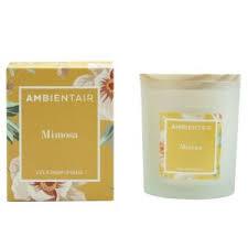 Купить «<b>Свеча ароматическая</b> Мимоза Floral (30 часов ...