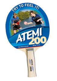 <b>Ракетка</b> для настольного тенниса <b>Atemi</b> 200 | <b>Спортивный</b> ...
