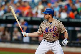 why baseball matters still daniel murphy of the new york mets in action against the philadelphia phillies on 28 2014 at citi field in new york city murphy wears a camoflauge