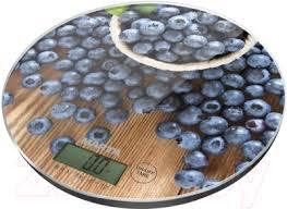 <b>Marta MT</b>-<b>1635</b> (<b>черничная россыпь</b>) <b>Кухонные весы</b> настольные ...
