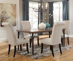 Five Piece Dining Room Sets Ashley Signature Design Tripton 5 Piece Rectangular Dining Room
