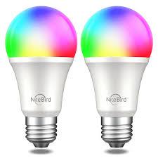 Умная <b>лампочка Nitebird Smart</b> bulb WB4 colorful (разноцветный ...