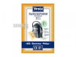 Купить <b>Мешки пылесборные Vesta</b> Filter EX 01 по низкой цене в ...
