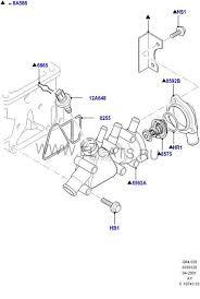 <b>Корпус термостата</b>. (Р) - <b>Ford</b> Focus 1