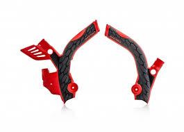 Plastics <b>motorcycle</b> x-grip <b>frame</b> protectors | Acerbis Motorsport