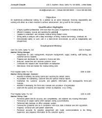 Doc            Resume Examples Resume Examples For Medical Billing