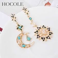 <b>HOCOLE Sea</b> Conch Shell Drop Earrings For Women 2019 Brincos ...