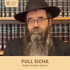Full Sicha, Rabbi Mendel Lipskier