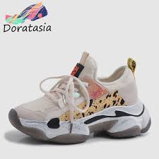 <b>DORATASIA</b> 2019 <b>New</b> Summer <b>INS Hot</b> Women Sneakers Cow ...