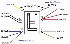 hvac contactor relay wiring diagram ac contactor wiring diagram wiring diagram and schematic design wiring diagram contactor zen