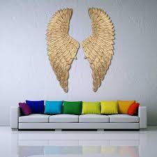 Wall <b>Decoration</b> Angel Wings <b>Retro Metal</b> wings Bar Coffee Shop ...