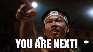 bloodsport you are next - WeKnowMemes Generator via Relatably.com