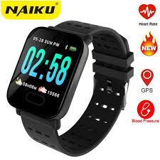 factory <b>A6 Smart Watch Heart</b> Rate Monitor Sport Fitness Tracker ...