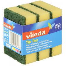 <b>Губка Vileda</b> Тип-Топ для посуды 3 шт