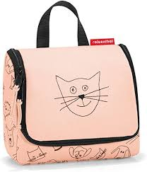 <b>Reisenthel</b> Toiletry Bag, <b>Cats and Dogs</b> Rose (Red) - IO3064 ...