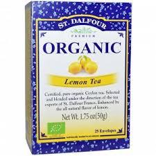 St. Dalfour, <b>Organic</b>, <b>лимонный чай</b>, <b>25</b> конвертиков, 1 ...