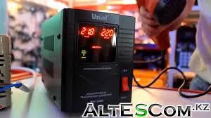 <b>Стабилизатор напряжения Uniel</b> RS-1/500 видеообзор - YouTube