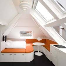 small apartment with multifunctional furniture as bed seating and storage idea apartment storage furniture