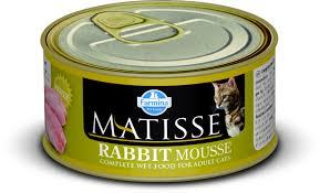 Влажный корм <b>Farmina Matisse</b> Cat Mousse <b>Rabbit</b> мусс для ...