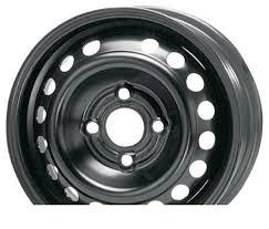 """Wheel <b>Trebl</b> X41540 Black 15x6""""/4x100mm"""