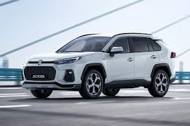 Новая <b>модель</b> Suzuki Across оказалась копией <b>Toyota</b> RAV4 ...