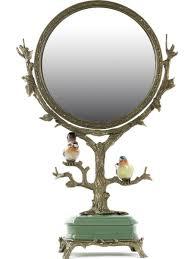<b>Зеркало настольное</b> с птицами <b>Glasar</b> 9767337 в интернет ...