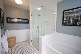 bathroom white tiles: traditional black and white tile bathroom remodel traditional bathroom