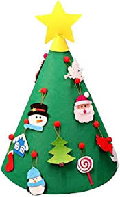 <b>DIY Felt</b> Toddler <b>Christmas</b> Tree New Year <b>Kids</b> Gifts Toys Playtime ...