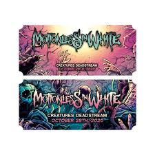 Creatures Deadstream Ticket – <b>MOTIONLESS IN WHITE</b> MERCH